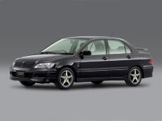 Mitsubishi Lancer Cedia wheels and tires specs icon