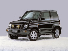 Mitsubishi Pajero Jr wheels and tires specs icon