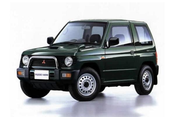 Mitsubishi Pajero Mini H51/H56 Closed Off-Road Vehicle