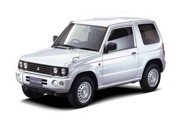 Mitsubishi Pajero Mini H53/H58 Closed Off-Road Vehicle