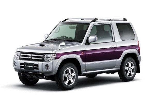 Mitsubishi Pajero Mini H53/H58 Facelift Closed Off-Road Vehicle