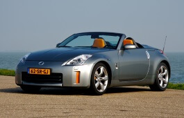 Nissan 350Z wheels and tires specs icon