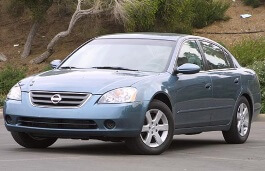 Nissan Altima wheels and tires specs icon