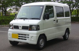 Nissan Clipper wheels and tires specs icon