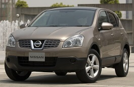 Nissan Dualis wheels and tires specs icon