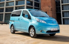 Nissan e-NV200 wheels and tires specs icon