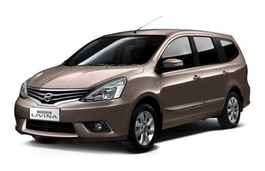 Nissan Grand Livina wheels and tires specs icon
