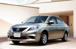 Nissan Latio wheels and tires specs icon