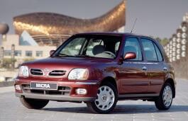 Nissan Micra II (K11) Facelift Hatchback