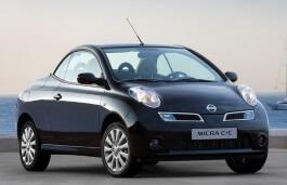 Nissan Micra C+C K12 Convertible