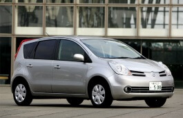 Nissan Note wheels and tires specs icon