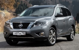 Nissan Pathfinder wheels and tires specs icon