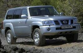 Nissan Patrol Safari wheels and tires specs icon