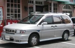 Nissan Prairie Joy wheels and tires specs icon