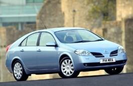 Nissan Primera wheels and tires specs icon