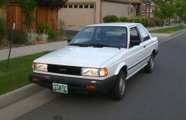 Nissan Sentra II (B12) Coupe