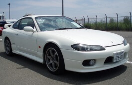 Nissan Silvia wheels and tires specs icon