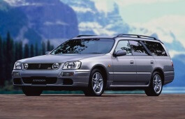 Nissan Stagea wheels and tires specs icon