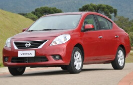Nissan Sunny wheels and tires specs icon