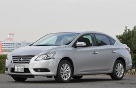 Nissan Sylphy wheels and tires specs icon