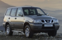 Nissan Terrano 2 wheels and tires specs icon