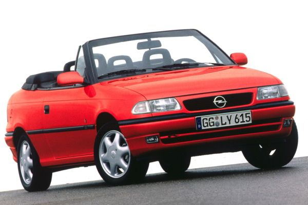 Opel Astra I F (T92) Convertible