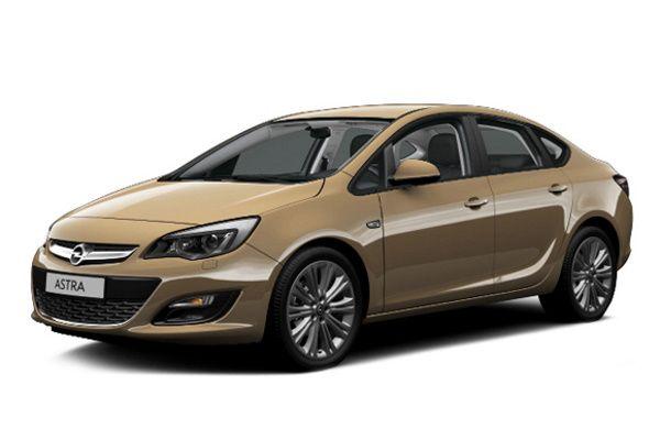 Opel Astra IV J (P10) Facelift Saloon
