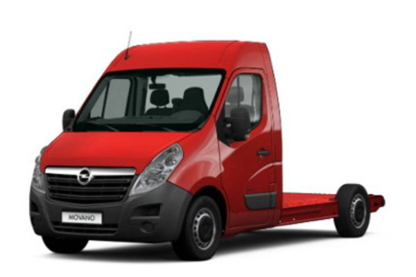 Opel Movano B Chassis cab