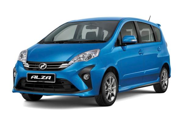 Perodua Alza M500 Facelift 2 MPV