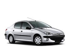 Peugeot 206 wheels and tires specs icon