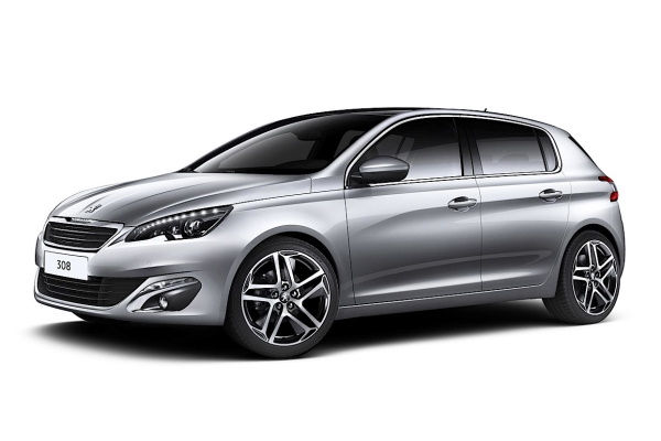 Peugeot 308 wheels and tires specs icon
