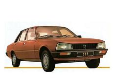 ícone de especificações de roda e pneus de Peugeot 505
