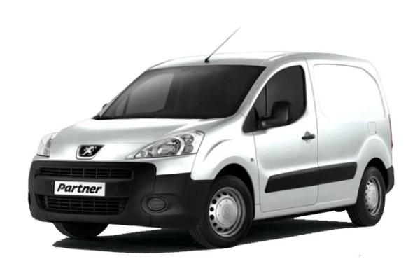 Peugeot Partner Räder- und Reifenspezifikationensymbol