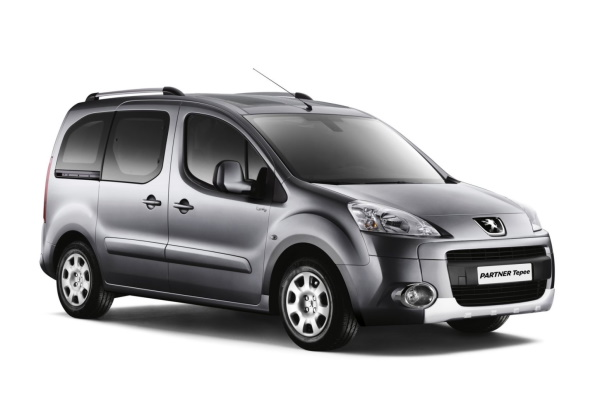 Peugeot Partner Tepee Räder- und Reifenspezifikationensymbol