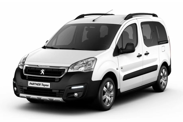 Peugeot Partner Tepee wheels and tires specs icon