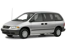 Plymouth Grand Voyager Räder- und Reifenspezifikationensymbol