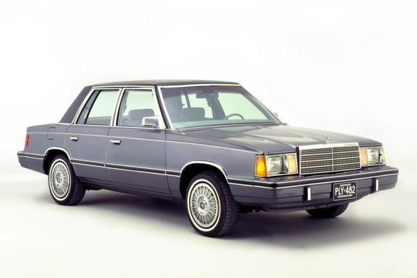 普利茅斯汽车 Reliant 輪轂和輪胎參數icon