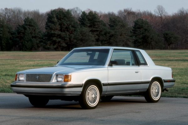 Plymouth Reliant K-body Facelift Coupe