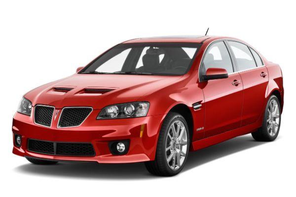 ícone de especificações de roda e pneus de Pontiac G8