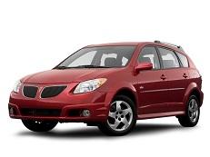 ícone de especificações de roda e pneus de Pontiac Vibe