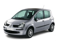Renault Modus wheels and tires specs icon