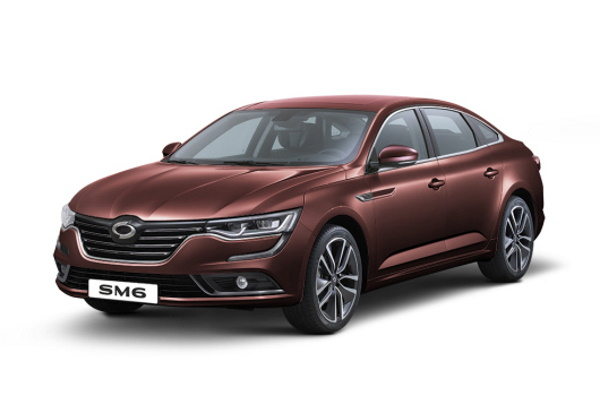 Renault Samsung SM6のホイールとタイヤスペックアイコン