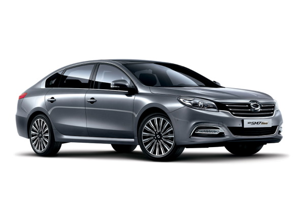 Renault Samsung SM7 wheels and tires specs icon