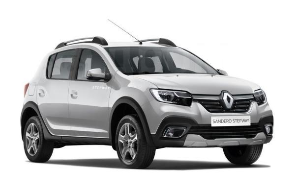 Renault Sandero Stepway wheels and tires specs icon