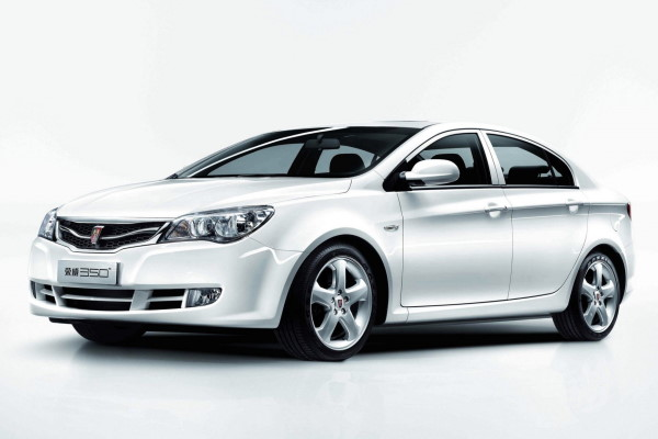 Roewe 350 wheels and tires specs icon