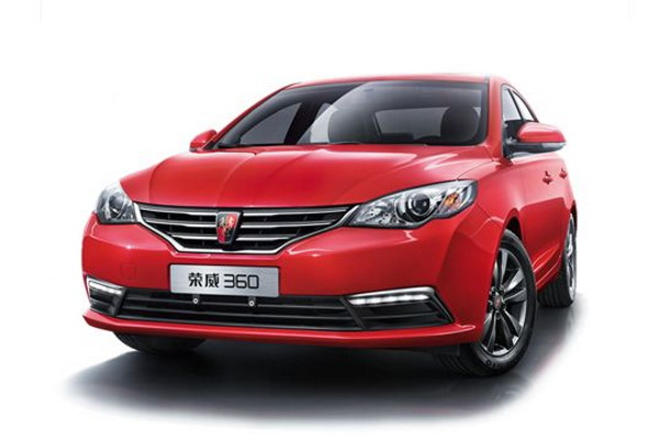 Roewe 360 wheels and tires specs icon