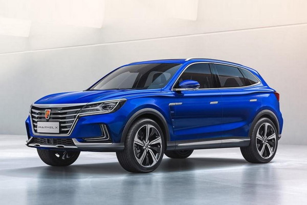 Roewe Marvel X wheels and tires specs icon