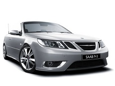 Saab 9-3 wheels and tires specs icon