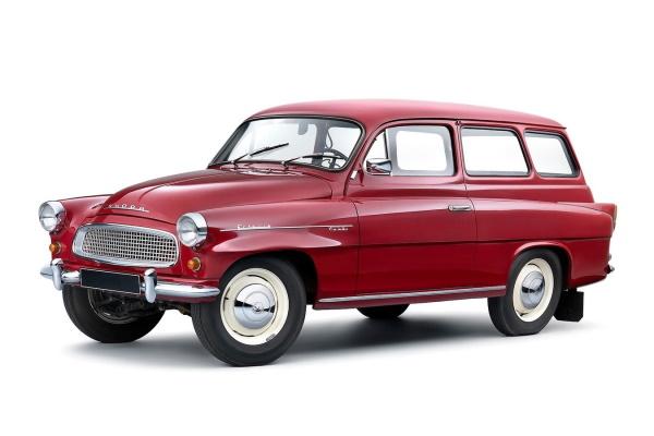 Автомобиль Skoda Octavia Typ 985 EUDM, год выпуска 1959 - 1971