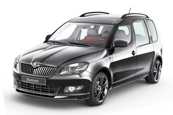 Skoda Roomster wheels and tires specs icon